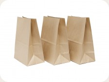 Packing paper bags - gallery